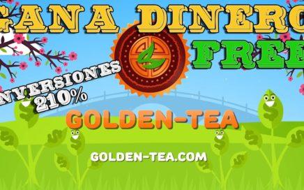 Ganar un 210% de nuestro DEPOSITO con GOLDEN TÈA