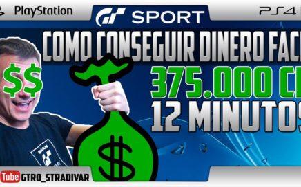 GT SPORT   COMO GANAR DINERO FACIL - 375.000 Cr EN 12 MINUTOS   GTro_stradivar