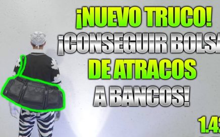GTA 5 ONLINE 1.42 NUEVO TRUCO CONSEGUIR BOLSA DE ATRACOS A BANCOS (EXPLICADO) - GTA V ONLINE 1.42