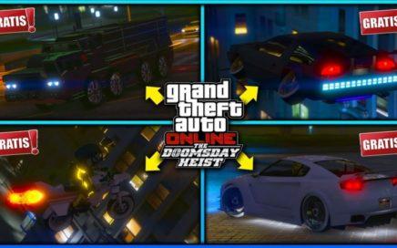 GTA 5 ONLINE REGALANDO AUTOS A SUSCRIPTORES! UNETE ES GRATIS xD