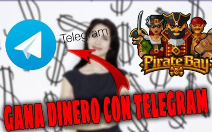 LA MEJOR MANERA DE GANAR DINERO con telegram 2018 | GANA EN BITCOIN