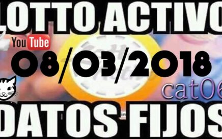 LOTTO ACTIVO DATOS FIJOS PARA GANAR  08/03/2018 cat06