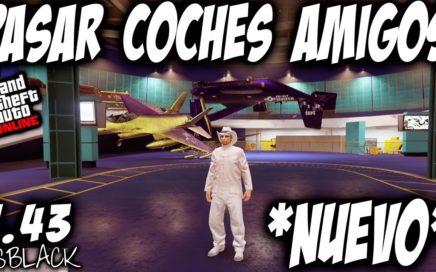 *NUEVO* - DAR, PASAR, REGALAR COCHES AMIGOS - GTAV 1.43 - SIN MOC AVENGER BUNKER - (PS4 - XBOX One)