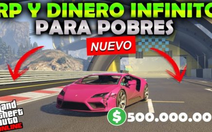NUEVO! EL MEJOR TRUCO PARA POBRES! GTA5 ONLINE 1.42 DINERO Y RP AL MAXIMO! (PS4-XBX1-PC)