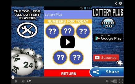 Numeros Para Hoy 22/03/2018 marzo (Lottery Plus)