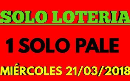 PARA HOY MIÉRCOLES 1 UN SOLO PALE SOLO LOTERÍA NACIONAL BINGO AYER COM EL (50) FELICIDADES