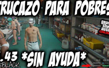 *SOLO* - SIN AYUDA - TRUCAZO PARA POBRES - GTAV 1.43 - GANAR DINERO SUPERFACIL - (PS4 - XB1)