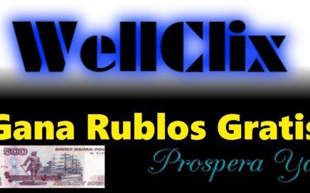 Wellclix Tutorial Completo | Gana Dinero en Rublos Gratis en Automático para Payeer sin Inversión