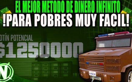 NUEVO DINERO INFINITO SUPER FACIL BESTIAL PARA POBRES!! GTA 5 1.000.000 EN 15 MINUTOS SUPER FACIL!
