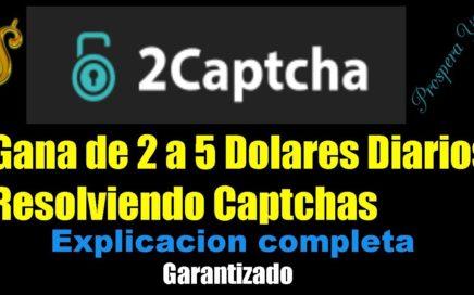 2Captcha | Explicación Completa, Gana Dinero Facil y Rapido resolviendo captchas con el Bot, Metodos