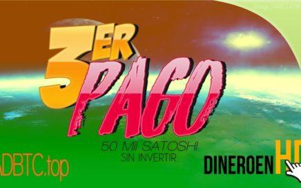 3er PAGO DE ESTA EXCELENTE PTC [adBTC] DONDE GANAMOS MUCHOS BITCOIN SIN INVERTIR TODO LOS DIAS