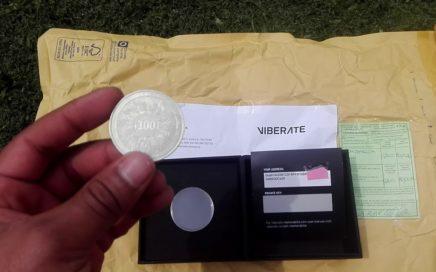 50.00€ VIBERATE 100 VIBES - RECIBIDO EN CASA