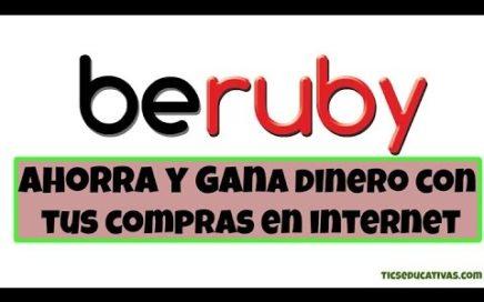 Beruby - Ahorra y Gana Dinero en tus Compras Online
