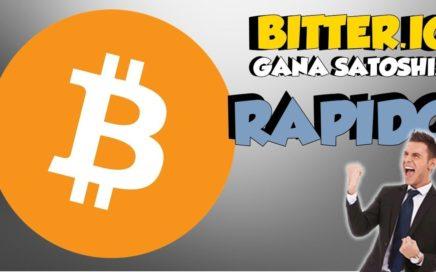 Bitter.io: La mejor PTC para generar BITCOINS