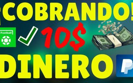 COBRANDO 10$ POR PAYPAL GRATIS y En Vivo Con Esta Nueva App (All Football)