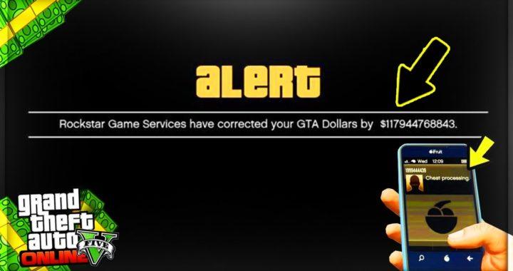 COMO CONSEGUIR ESTA ALERTA DE DINERO SIEMPRE QUE VAYAS A GTA 5 ONLINE (Truco Dinero Infinito 1.37)
