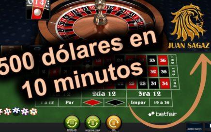 Cómo ganar 500 dólares en la ruleta con Ruletpro5 - Juan Sagaz