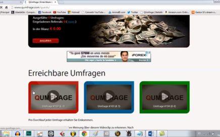 Como Ganar Dinero Facil En Internet Con QUMFRAGE