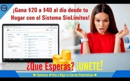 ¿COMO GANAR DINERO POR INTERNET CON POCA INVERSIÓN  + *PRUEBA DE PAGO*  SISTEMA SIN LIMITES 2018