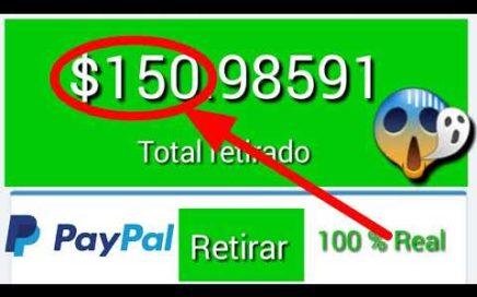 Cómo ganar dinero rápido 100 % real vía PayPal desde tu positivo android 2018
