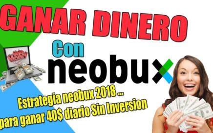 Estrategia Neobux 2018 para ganar 40$ diarios Sin Inversion con Josué Amador