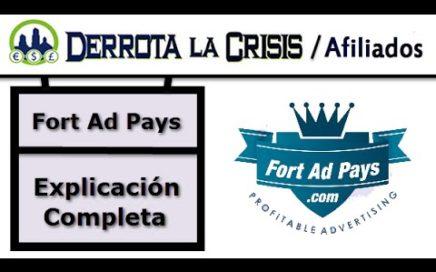 Fort Ad Pays Explicacion Completa | Ganar Dinero desde Casa