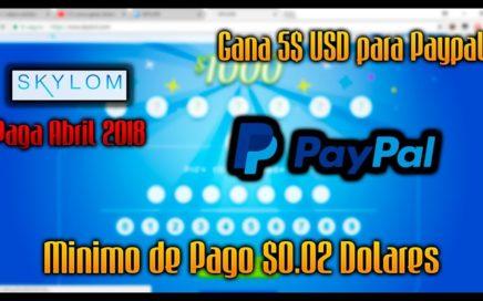 Gana 5$ USD Para Paypal Jugando | 23 ABRIL 2018