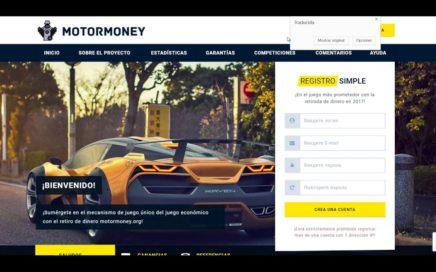 Gana Dinero Con Ingresos Pasivos, Página Real Motor Money 2018