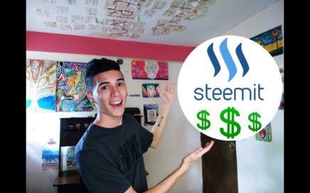 Gana DINERO con Steemit | Mi experiencia y consejos en esta RED SOCIAL