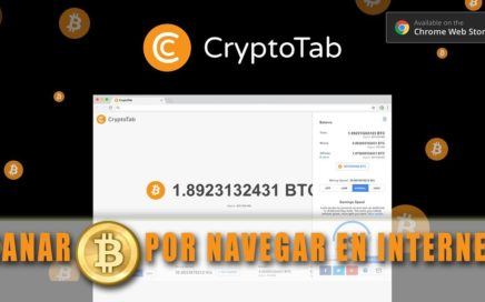 GANA DINERO POR ESTAR EN INTERNET FACEBOOK, YOUTUBE, TWITTER CRYPTOTAB
