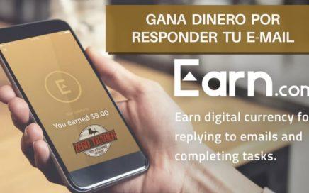Gana dinero por responder tu e-mail con EARN.COM