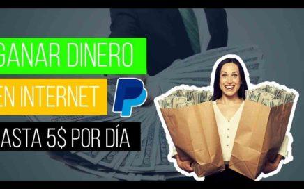 GANAR DINERO desde CASA en INTERNET [HASTA 5$ POR DÍA] PAYPAL + COMPROBANTES   Acortador de LINKS