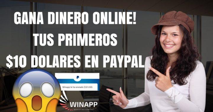 Ganar dinero por internet 100 dolares diarios sin invertir sin referidos pagos paypal 2018