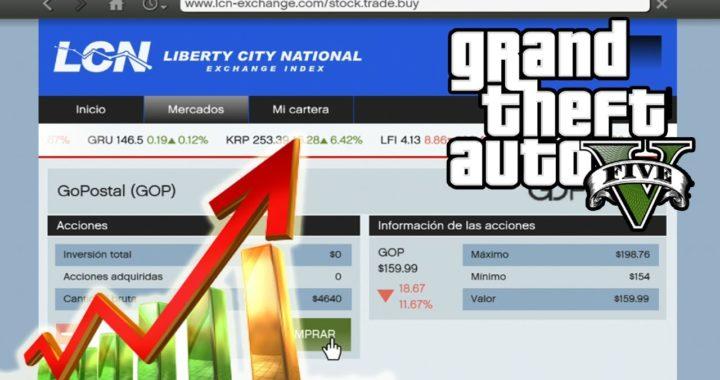 GTA 5 - Cómo GANAR MILLONES Con La Bolsa de Valores (GTA V)