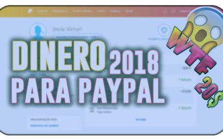 INCREÍBLE  ME PAGAN 20$ DIARIOS | COMO GANAR DINERO PARA PAYPAL [ABRIL 2018 + COMPROBANTE DE PAGO]