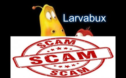 Larvabux || ya no paga ,es scam