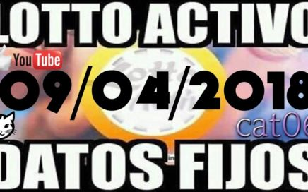 LOTTO ACTIVO DATOS FIJOS PARA GANAR  09/04/2018 cat06