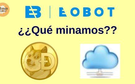 Mejor Estrategia Eobot para Ganar Bitcoins Gratis: Dogecoins o potencia de minado?! HD (2018)