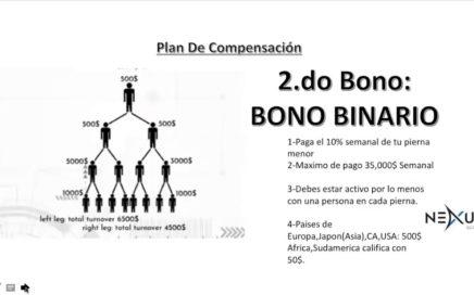 NEXUS GLOBAL LATINOPlan De Compensación !!BIEN EXPLICADO!!!