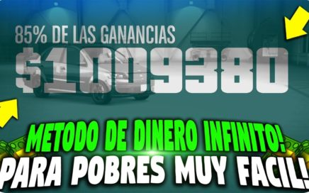 NUEVO DINERO INFINITO SUPER FACIL BESTIAL PARA POBRES! | GTA 5 1.000.000 EN 15 MINUTOS SUPER FACIL!
