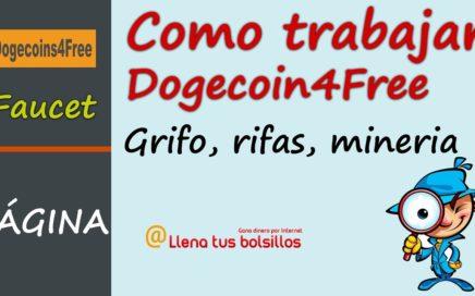 Que es y cómo funciona Dogecoins4Free | Todo lo que podemos hacer para ganar Doges