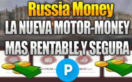 Russia Money | Nueva Pagina Mas Rentable Que MotorMoney | 10 Rublos Gratis | Explicación Rápida.