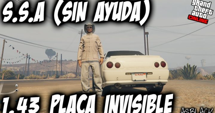 SOLO -  SIN AYUDA - DUPLICAR COCHES - GTA 5 - SESION INVITACION - PLACA INVISIBLE - (PS4 - XBOX One)