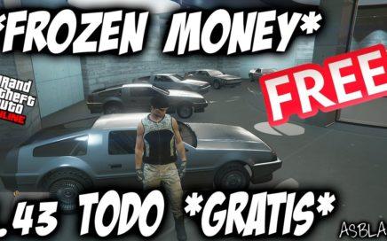*TODO GRATIS* - *ALL FREE* - GTA 5 - EL MEJOR TRUCO - COMPRAR GRATIS - FROZEN MONEY GLITCH - (PS4)