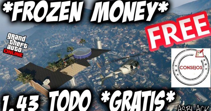 TODO GRATIS - ALL FREE  GTAV 5 - CONSEJOS - COMPRAR GRATIS - FROZEN MONEY GLITCH - (PS4)