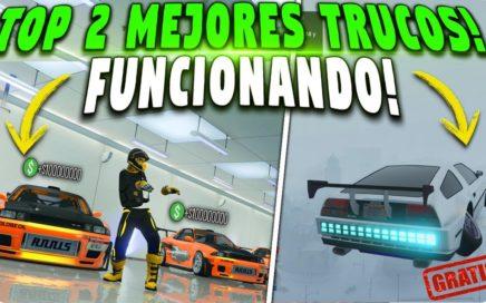 TOP 2 MEJORES TRUCOS PARA CONSEGUIR AUTOS GRATIS Y DUPLICAR AUTOS MASIVO MUY FACIL! GTA 5 ONLINE!