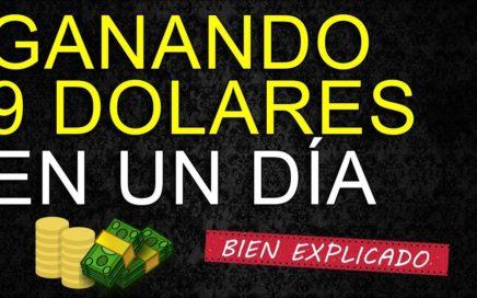 ¡ULTIMO MOMENTO! GANA $9 DOLARES EN UN SOLO DIA POR PAYPAL 2018 FÁCIL DE HACER (VÍDEO REAL)