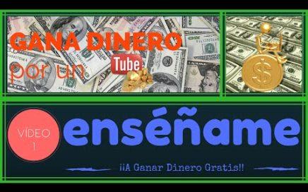 Video Presentacion enseñame a Ganar Dinero Gratis con Derrota la Crisis | Gana Dinero por un Tube