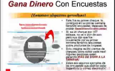 #1 Gana Dinero Con Encuestas-Ganar Dinero Con Encuestas Ya!