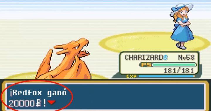 Como conseguir dinero fácil y rapido en Pokémon Rojo Fuego